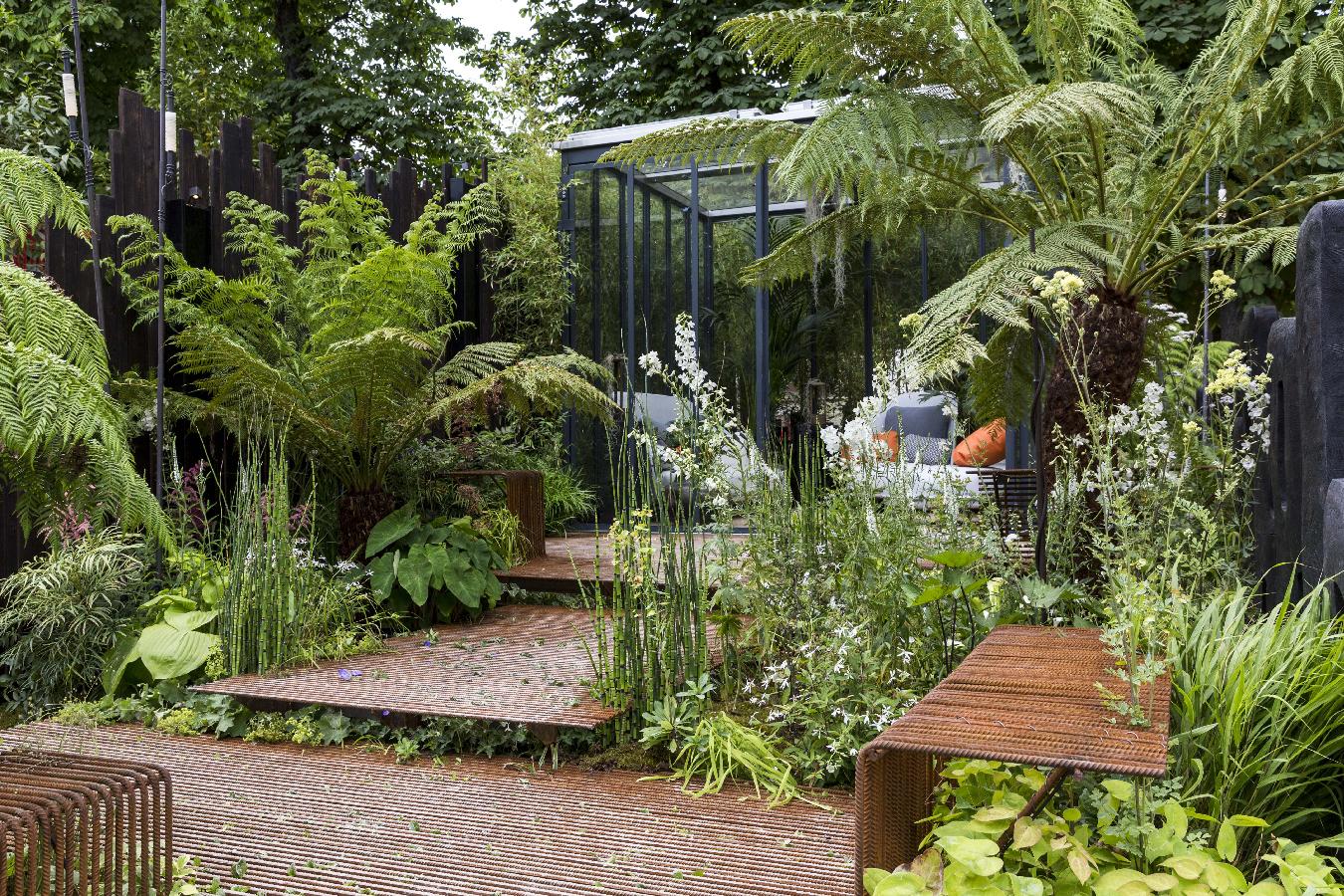Jardin de fer et d\'ombre - Garden Fab